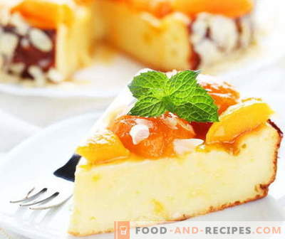 Cheesecake casserole - the best recipes. How to properly and tasty cook cottage cheese casserole.