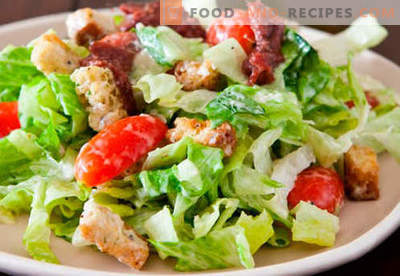 Salads for every day - proven recipes. How to cook salads for every day.