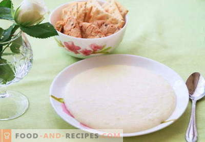 Semolina porridge - the best recipes. How to cook semolina.