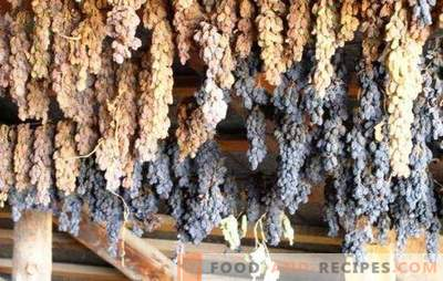 How to make raisins from grapes at home - save the harvest! All ways and tips on how to make good raisins from grapes at home