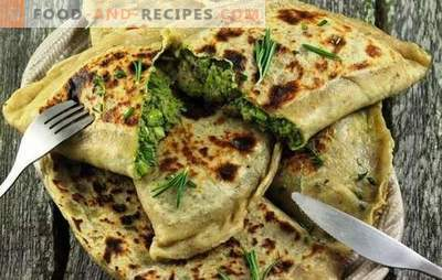 Kutaby with greens and cheese - these are pasties! Recipes and step-by-step preparation of Azerbaijani kutab with cheese and greens