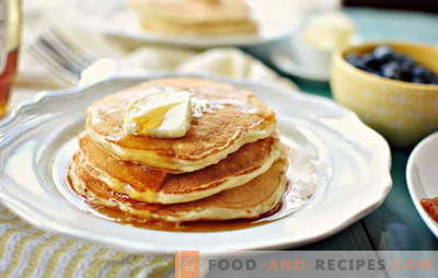 How to cook and what to serve with thick pancakes on kefir? What to cook for thick pancakes on kefir