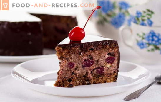 Drunk Cherry Cake at Home - Not Dare! Recipes cake