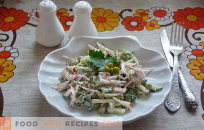 Meet: delicious and simple salads in a hurry! Recipes simple salad for weekdays and holidays
