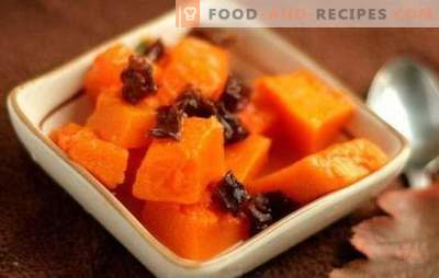Pumpkin with prunes - a sea of ​​taste and benefits! Recipes for stewed, fried and baked pumpkin dishes with prunes