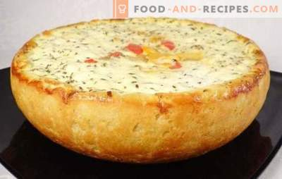 Potato pie in a slow cooker - mushroom, vegetable, meat, chicken, cheese, lean. The best recipes for potato pie in a slow cooker