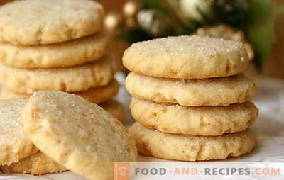 Cookies on sour cream - homemade will be delighted! Simple recipes sour cream cookies with cocoa, raisins, nuts, cottage cheese, condensed milk