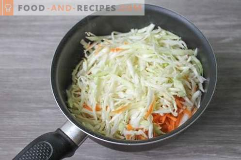 Lazy cabbage rolls - ideal for breakfast, lunch or dinner!