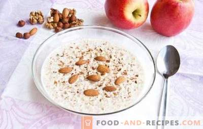 Liquid buckwheat porridge - use in each spoon. A selection of the best recipes for buckwheat porridge liquid with bananas, dried fruits, apples
