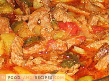 Azu from beef - the best recipes. How to properly and tasty cook ase of beef