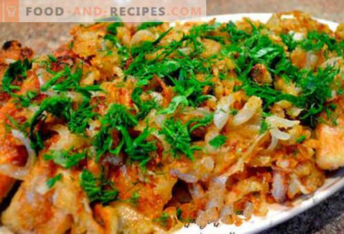 Fried mackerel - the best recipes. How to properly and tasty cook mackerel roast.