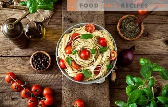 What spices are needed for pasta dishes? Now not only Italians know it