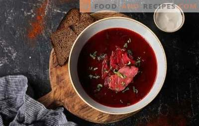 Common mistakes when cooking borscht