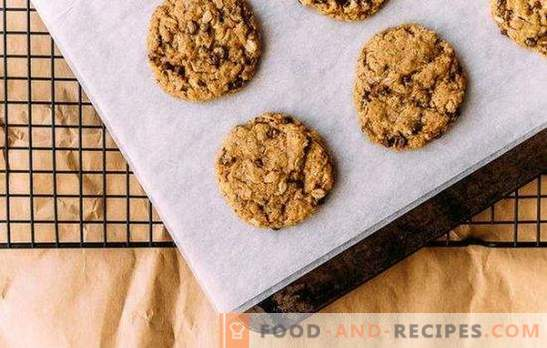 Dietary oatmeal cookies, allowing you to keep your body shape and health. Recipe for oatmeal cookies Ducane