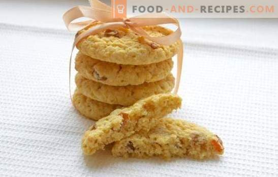 Soft oatmeal cookies - recipes and tricks. How to bake soft oatmeal cookies with honey, nuts, orange, apples, cottage cheese