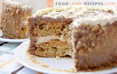 Kiev cake at home - permissible luxury! Simplified recipes of different homemade Kiev cakes