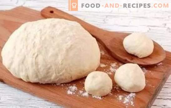 How to make dough like fluff - on kefir it will work out! Dough recipes for kefir for pies and not only for them