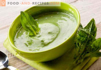 Spinach puree - the best recipes. How to properly and deliciously cook mashed spinach.