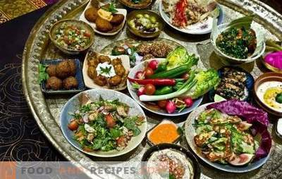 Familiarity with Moroccan cuisine: adapted recipes
