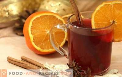 Mulled wine with orange - the most winter, fragrant and warming drink! Cooking all the mulled wine with oranges