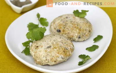 Fishmeat cutlets - economically and tasty! Cooking minced fish cutlets with semolina, potatoes, lard, rice, cheese