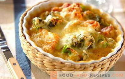 Chicken fillet casserole - a quick solution for a tasty dinner. The best recipes for tender casseroles with chicken