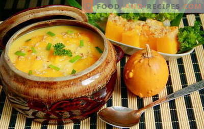 Surprise everyone with homemade pumpkin soup: quick, tasty! European recipes for pumpkin soups, quick and tasty, wholesome and nourishing