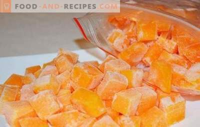 Freezing pumpkin in slices or in the form of mashed potatoes. How to freeze raw pumpkin, baked and what to prepare from it