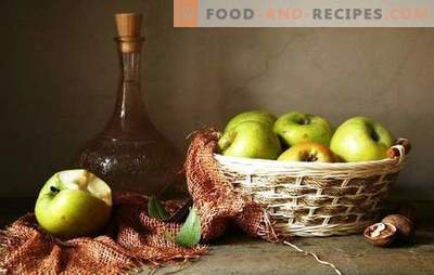 Apple season - we make a bouquet of wine from apples without pressing. Technology of homemade wine from apples without juice - the advantages and disadvantages of making wine from apple pulp