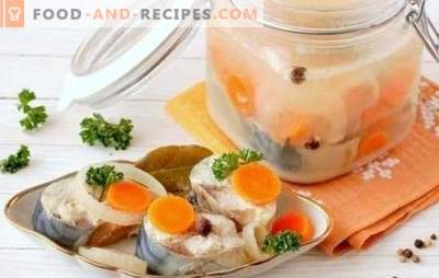 Mackerel with carrots is an incredibly tasty fish. Recipes for mackerel with carrots: in the oven, stewed, baked, marinated