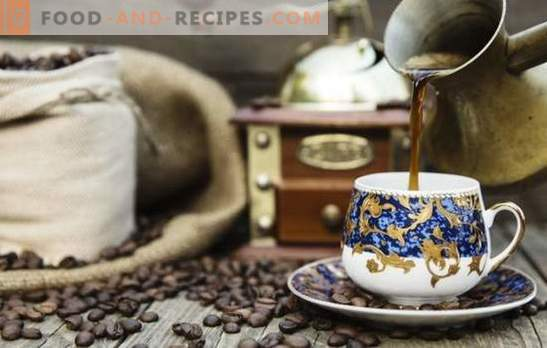 Coffee in the Turk at home - preparing an exquisite flavored drink. What is the best way to make Turkish coffee at home?