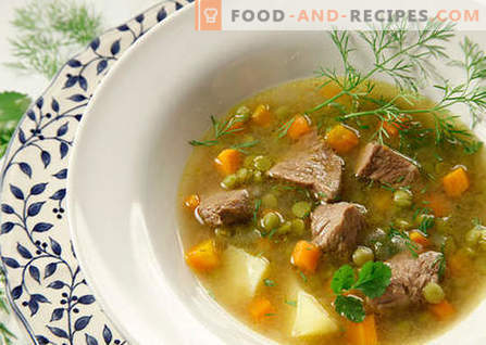 Soups with meat - the best recipes. How to properly and tasty cook soups with meat.