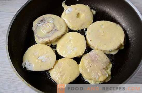 Mushroom chops: a step-by-step photo recipe. Cooking delicious delicious champignon patties - diversify family dinners!