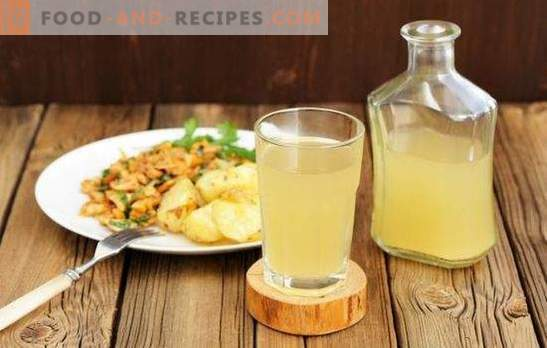 Step-by-step recipes for refreshing homemade white kvass. A unique, healthy and refreshing drink on your table!