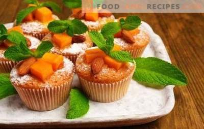 Pumpkin muffins - sunny pastries! Recipes for dietary, classic and dessert pumpkin muffins