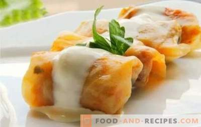 Cabbage rolls in a slow cooker: step-by-step recipes with meat and rice. Recipes classic, puff and lazy cabbage in a slow cooker (step by step)