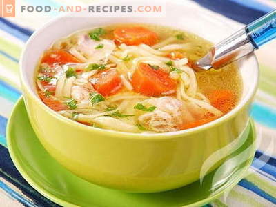 Chicken soup in a slow cooker - proven recipes. How to properly and deliciously cook chicken soup in a slow cooker.