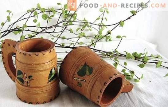 Birch kvass with raisins is an original vitamin drink. The best recipes for birch kvass with raisins
