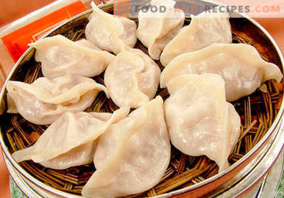 Steamed Dumplings - the best recipes. How to properly and tasty steamed dumplings at home.