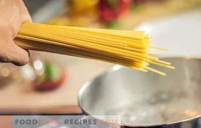Nine culinary offenses or the most common mistakes when cooking pasta and spaghetti