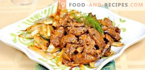 Beef stroganoff - the best recipes. How to properly and tasty cook beef stroganoff.