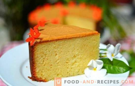 A dry biscuit is a simple basis for wonderful cakes. Recipe and technology of baking dry biscuits