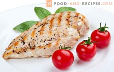 Dietary breast - a favorite product of athletes and losing weight. A selection of recipes for breast diet slim figure