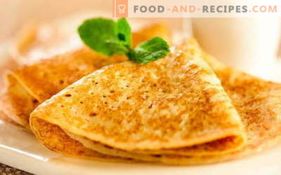 Pancakes on yeast - proven recipes. How to properly and tasty cook pancakes with yeast.