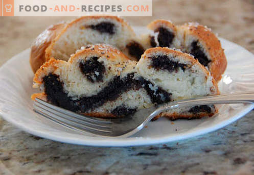 Poppy buns are the best recipes. How to properly and tasty cook buns with poppy seeds at home