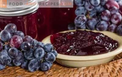 Grape jelly for the winter is a delicious fragrant gift of summer. Variations and secrets of cooking grape jelly for the winter