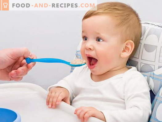 Baby cereals - the best recipes. How to cook porridge for children.