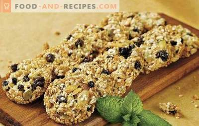 Oatmeal cookies without sugar - useful goodness. Secrets of making oatmeal cookies without sugar with dried fruit, honey