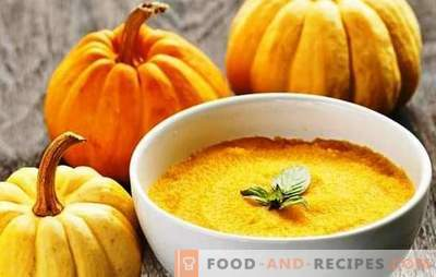 Pumpkin porridge with milk - you will lick your fingers. Options pumpkin porridge with milk on the stove, in pots and a slow cooker