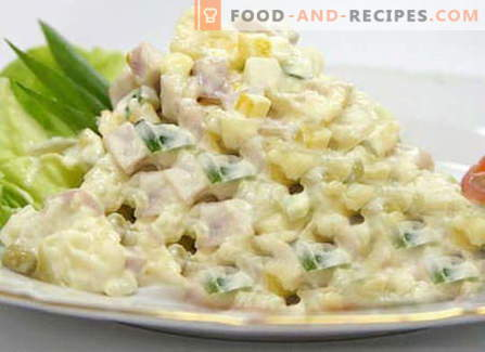 Iceberg lettuce - the best recipes. How to properly and tasty to cook Iceberg salad.